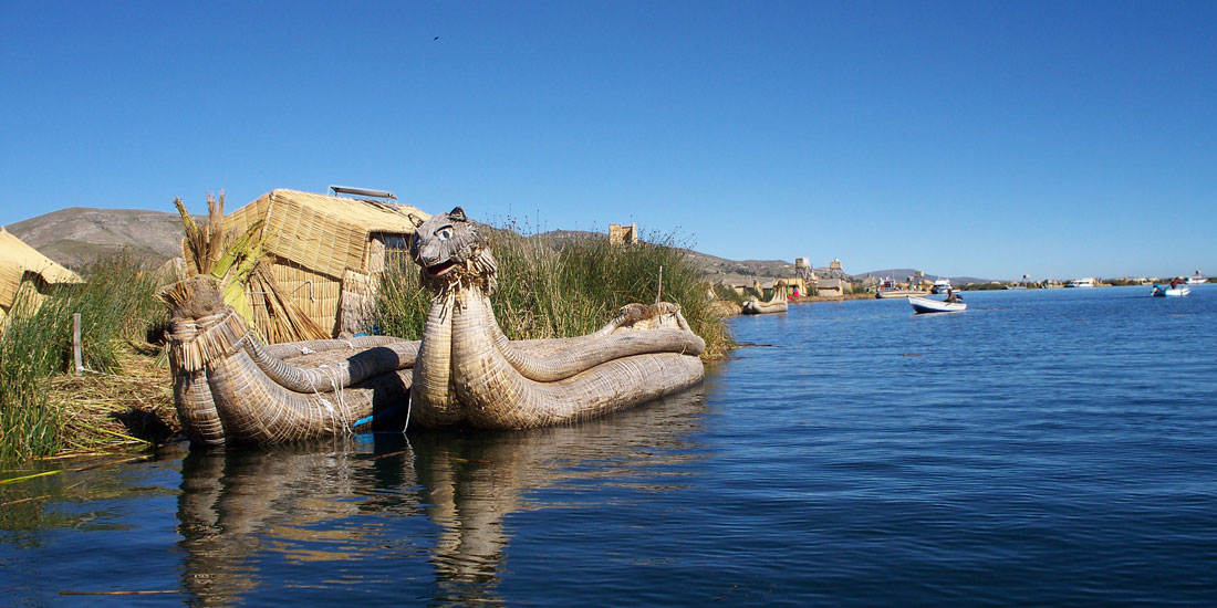 The Magic and Colors of the Titicaca Lake