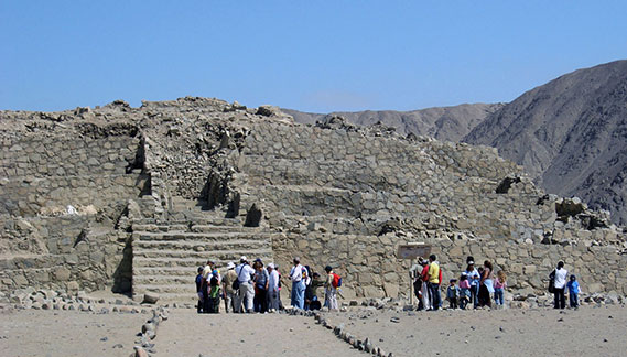 Temple of Caral City
